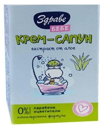 Здраве Сапун Здраве бебе - алое 75 гр.